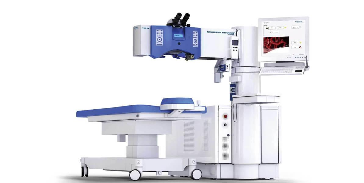 Augenklinik Regensburg Maschine