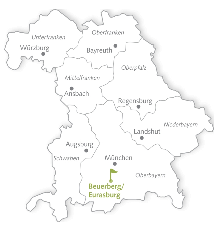 Map Golfclub Beuerberg