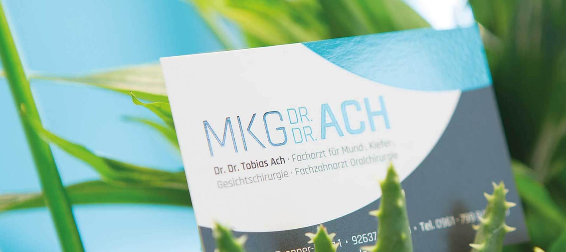MKG Chirurgie Weiden Visitenkarte