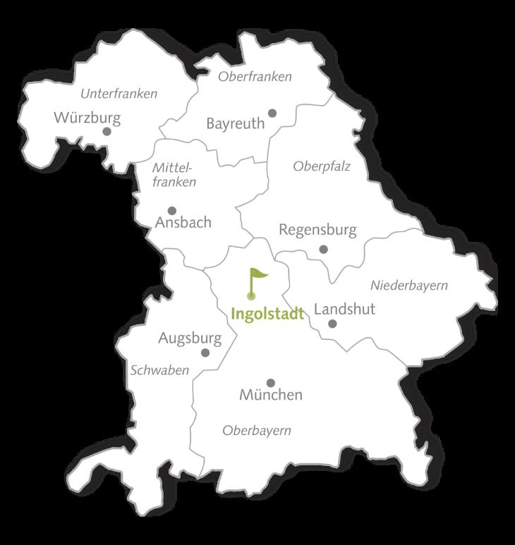 Golfclub Ingolstadt Map