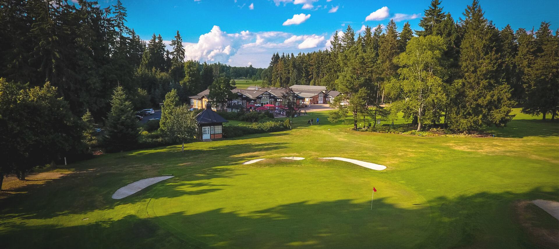 Restaurant mit Golfplatz Marianske Lazne Tschechien