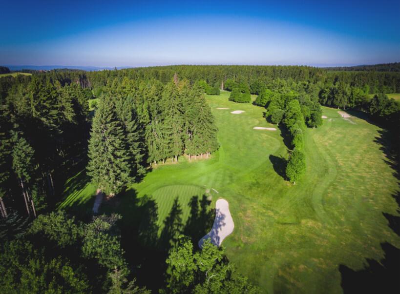 Luftaufnahme Golfplatz Marianske Lazne