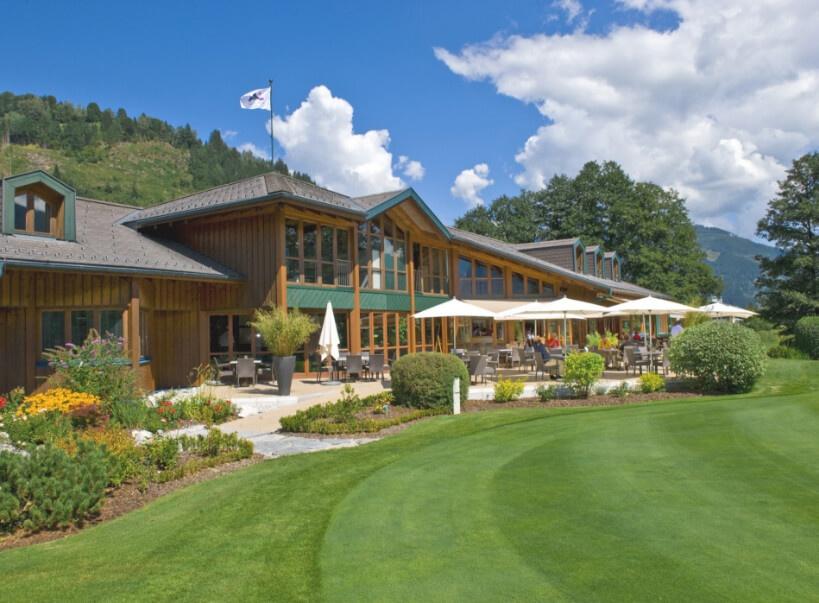 Restaurant beim Golfclub Zell am See